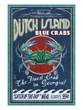 Dutch Island  Georgia - Blue Crabs