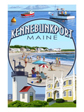 Kennebunkport  Maine - Montage Scenes