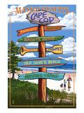 Cataumet  Cape Cod  Massachusetts - Sign Destinations