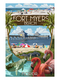 Fort Myers  Florida - Montage Scenes