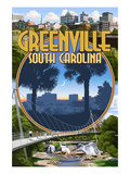 Greenville  South Carolina - Montage