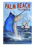 Palm Beach  Florida - Sailfish Scene