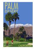 Palm Desert  California - Golfing Scene