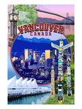 Vancouver  BC - Montage Scenes
