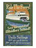 Whidbey Island  Washington - Ferry