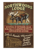 Minnesota - Moose Northwoods Lodge