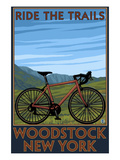 Woodstock  New York - Ride the Trails Bike Scene