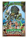 Hermosa Beach  California - Alien Attack Horror