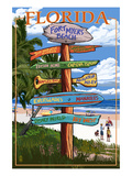 Sign Destinations - Fort Myers Beach  Florida