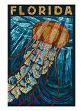 Jellyfish Paper Mosaic - Florida