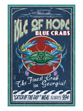 Isle of Hope  Georgia - Blue Crabs