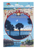 Myrtle Beach  South Carolina - Montage