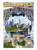 Indianapolis  Indiana - Montage Scenes