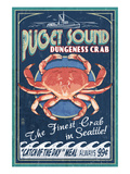 Seattle  Washington - Dungeness Crab