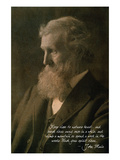 Muir Woods National Monument  California - John Muir Portrait