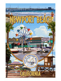Newport Beach  California - Newport Beach Montage