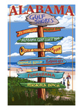 Gulf Shores  Alabama - Sign Destinations