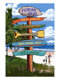 Florida Keys - Sign Destinations