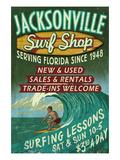 Jacksonville  Florida - Surf Shop