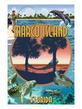 Marco Island  Florida - Montage Scenes
