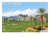 Palm Springs  California - Golf Course Scene