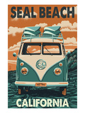 Seal Beach  California - VW Van