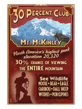 Mount McKinley  Alaska - 30% Club