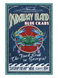 Skidaway Island  Georgia - Blue Crabs