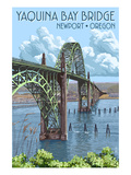 Newport  Oregon - Yaquina Bay Bridge