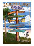 Santa Barbara  California - Sign Destinations