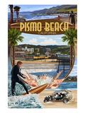 Pismo Beach  California - Montage Scenes