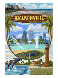 Jacksonville  Florida - Montage Scenes