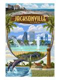 Jacksonville  Florida - Montage Scenes
