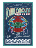 Edisto Beach  South Carolina - Blue Crabs