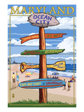 Ocean City  Maryland - Sign Destinations