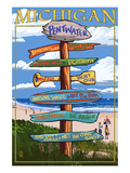 Pentwater  Michigan - Sign Destinations