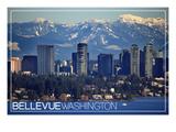 Bellevue  Washington - Lake Washington and Skyline