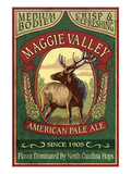 Maggie Valley  North Carolina - Elk Pale Ale