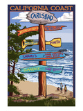 Carlsbad  California - Destination Sign