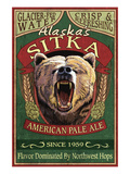 Sitka  Alaska - Grizzly Bear Ale