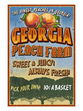 Georgia - Peach Farm
