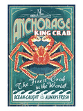Anchorage  Alaska - King Crab