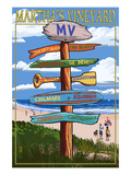 Martha's Vineyard - Destination Sign