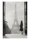 Paris 1928 Reproduction d'art par Hugo Wild