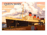 Long Beach  California - Queen Mary