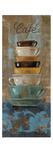 Antique Coffee Cups I Giclée premium par Silvia Vassileva