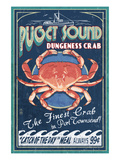 Port Townsend  Washington - Dungeness Crab
