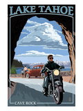 Lake Tahoe  California - Motorcycle Scene
