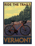 Vermont - Bicycle Scene