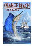 Orange Beach  Alabama - Sailfish Scene